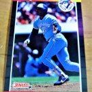 Vintage George Bell Baseball Scorecard 1989 #149