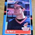Vintage Jay Bell Baseball Scorecard 1989 #637