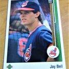 Vintage Jell Bell Baseball Scorecard 1988 #489