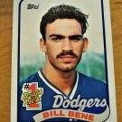 Vintage Bill Bene Baseball Scorecard 1988 #84