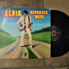 Vintage Elvis Record Album-Separate Ways