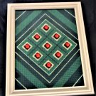 "Handcrafted Collectible Wall Art ""Bed of Rubies"" Numbered and Signed 4"