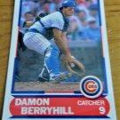 Vintage Damon Berryhill Baseball Scorecard 1989 #24