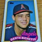 Vintage Dante Bichette Baseball Scorecard 1988 #761