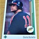 Vintage Dante Bichette Baseball Scorecard 1988 #24