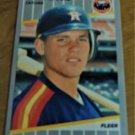Vintage Craig Biggio Baseball Scorecard 1989 #353
