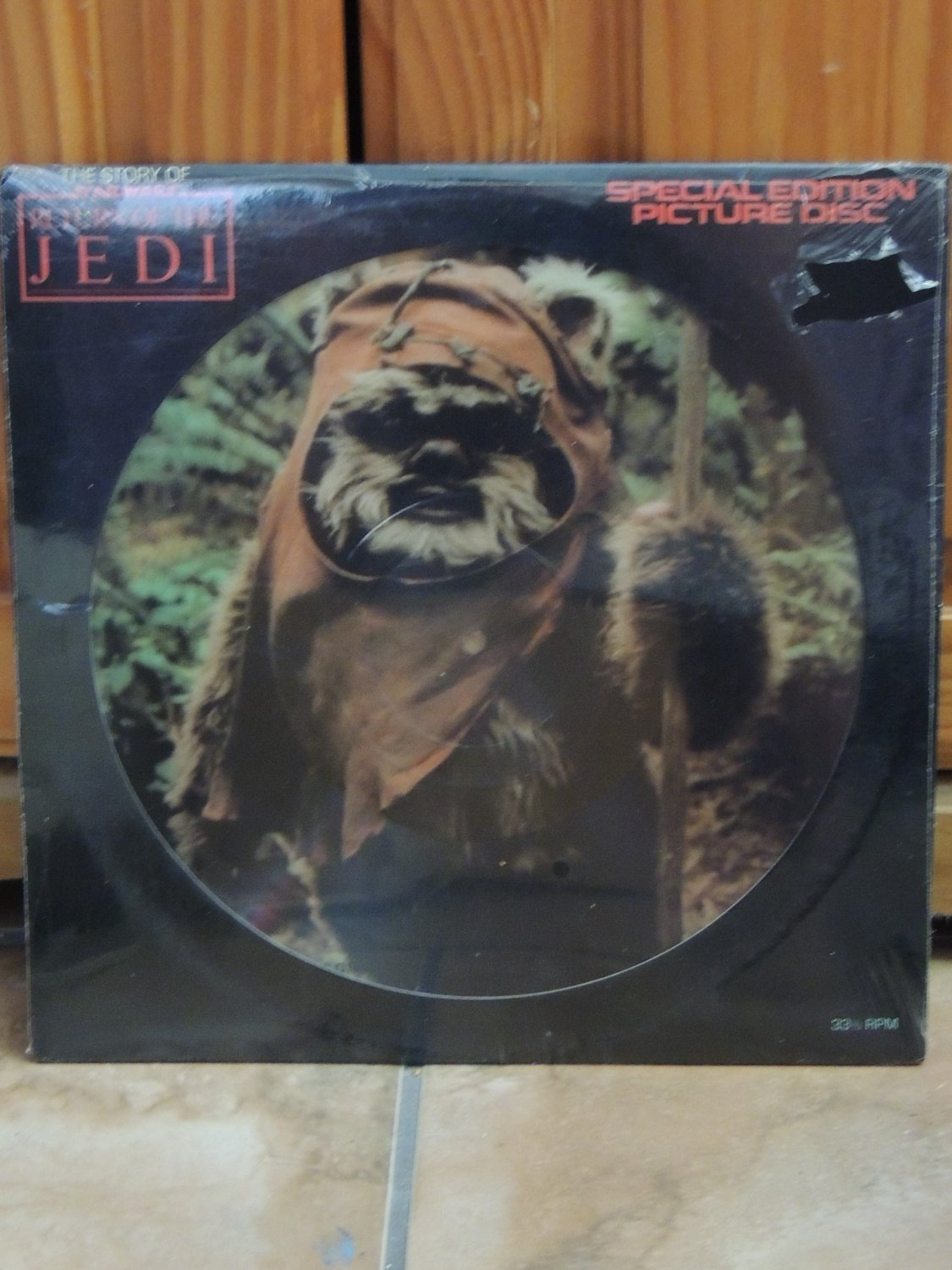New! Vintage Return of the Jedi Story Picture Disc LP Record