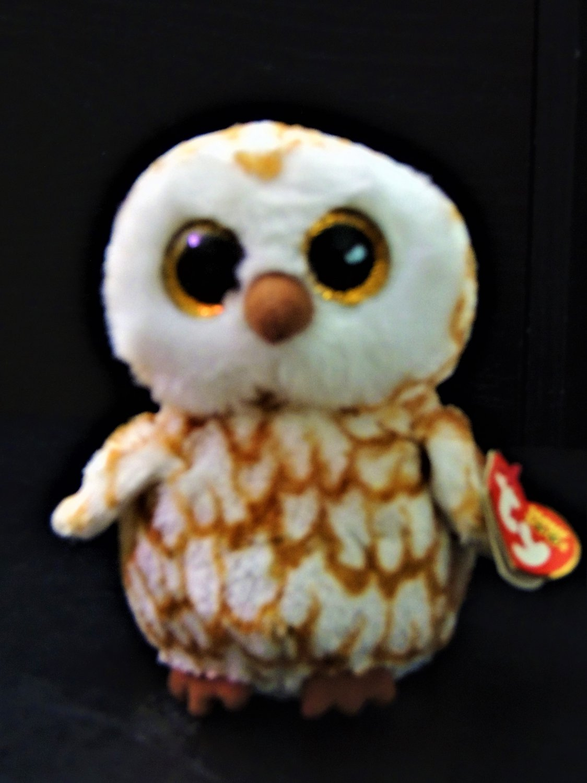 "TY Beanie Baby Owl ""Swoops"""