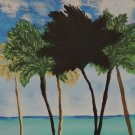Tropical Art on Canvas Palm Trees