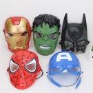 10pcs Lot The Avengers Spider Man Iron Man Hulk America Capt Toy