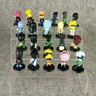 21pcs Lot Naruto Figure Toy Sasuke Kakashi Itachi Yondaime H Toy