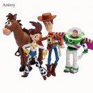 4pcs Set Anime Toy Story 3 Buzz Lightyear Woody Jessie Pvc A 2 Toy