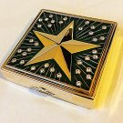 ESTEE LAUDER SHINING STAR 2007 Crystal Compact Collectible Item Limited-Edition