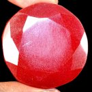 159.25 Ct Natural Round Pigeon Blood Red Ruby Loose Gemstone Christmas Gift Ebay