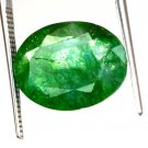 7.25 Ct Natural Oval IGL Certified Emerald Loose Gemstone-Christmas Gift Ebay