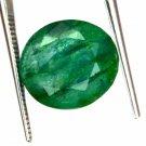 7.30 Ct Natural Oval IGL Certified Emerald Loose Gemstone-Christmas Gift Ebay