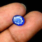 2.40 Ct Natural Oval IGL Certified Blue Sapphire Loose Gemstone Christmas Gift