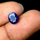 2.35 Ct Natural Oval IGL Certified Blue Sapphire Loose Gemstone Christmas Gift