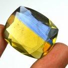 62.25 Ct IGL Certified Cushion Cut Yellowish Blue Ametrine Loose Gemstone Ebay