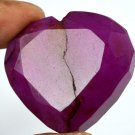 205.40 Ct Natural Heart Shape African Pigeon Blood Red Ruby Loose Gemstone Ebay