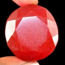 179.15 Ct Natural Oval Cut Pigeon Blood Red Ruby Loose Gemstone-Xmas Gift !!