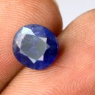 2.20 Ct Ebay Amazing Natural Oval IGL Certified Blue Sapphire Gemstone GIFTS