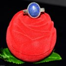 8.80 Ct Certified Natural Oval Blue Lapis Lazuli G.S. Adjustable Ring Ebay