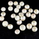 200Ct/28Pcs Ebay Beautiful Freshwater White Cultured Pearl Loose Gemstone Lot