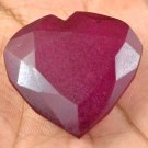 139.30 Ct Natural Heart Shape African Pigeon Blood Red Ruby Gemstone Best Offer