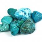 55.60 Ct Natural Arizona Mine Kingman Turquoise Gemstone Drilled Rough Lot Ebay