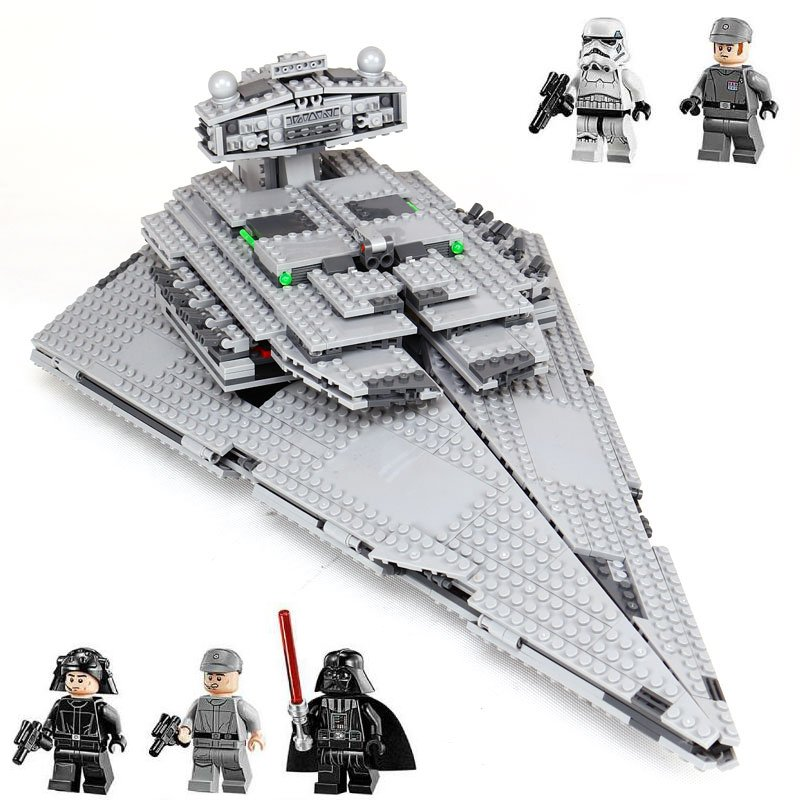 Star Wars The Imperial Star Destroyer 75055 Compatible 05062