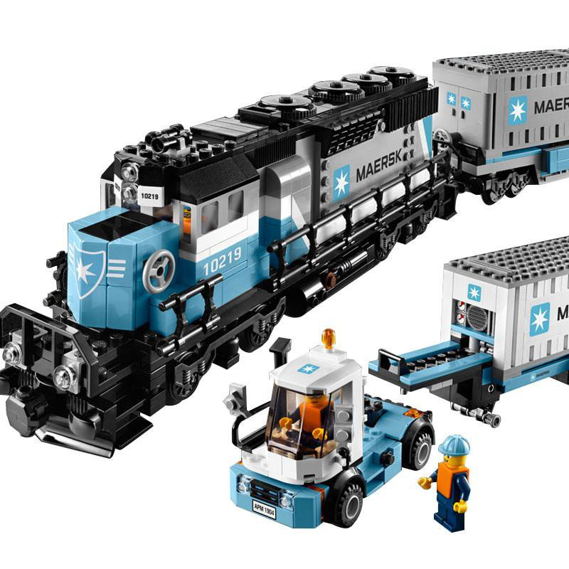 Creator Maersk Train 10219 Compatible 21006 US fast shipping