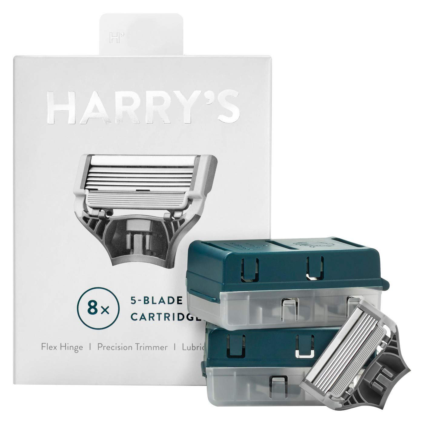 #1 Rated Shaving Blade Harry's Men's German Made Razor Blade Refills - 8ct
