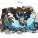 3D Wall Stickers Lego Batman Super Heros Staticker Kids Room Decoration