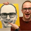 LEGO Personal Portrait 100% Customized Pixel Art Mosaic Painting Building Brick Set