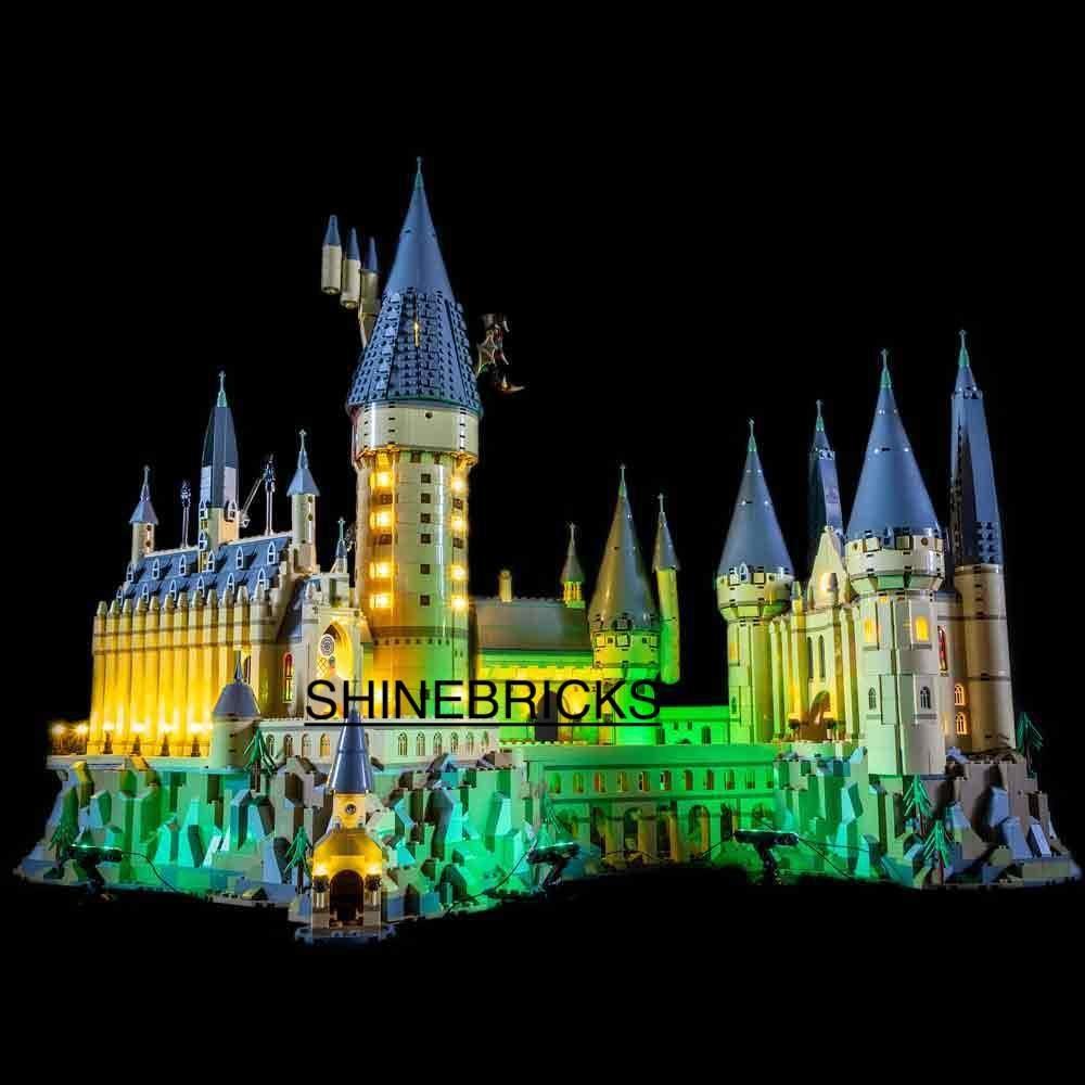 LED Light Kit For LEGO 71043 Harry Potter Hogwarts Castle (Lego Set not Included)