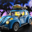 LED Light Kit For LEGO 10252 Creator BEETLE Blue Vintage Car (Lego Set not Included)