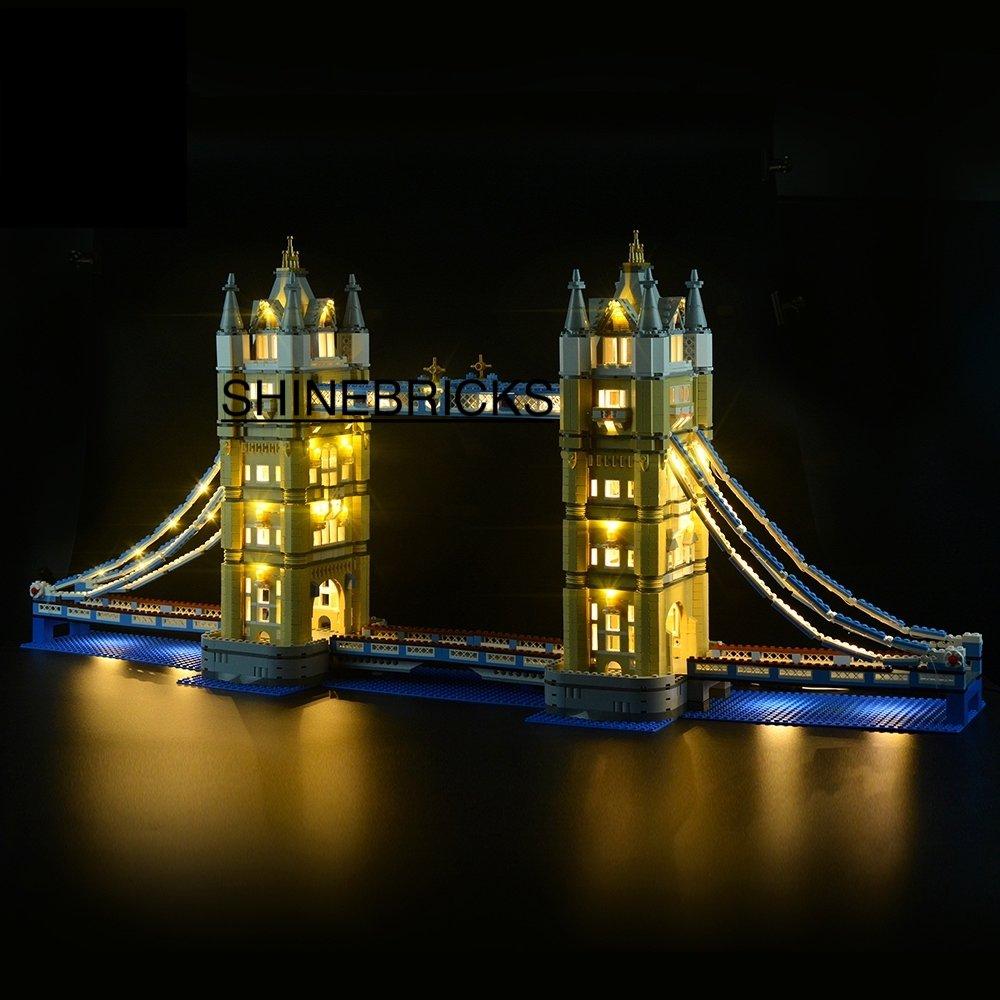LED Light Kit For LEGO 10214 TOWER BRIDGE (Lego Set not Included)