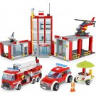 City Fire Station 60110 Compatible 02052