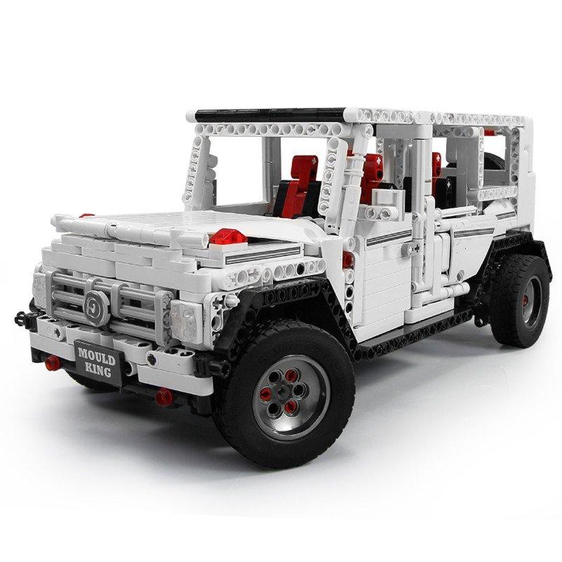Mould king 13069 G500 AWD G65 white SUV CAR  20100 MOC 2425