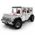 Mould king 13069 G500 AWD G65 white SUV CAR  20100 MOC 2425