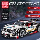 Mould King 13075 Mercedes Benz C63 AMG Sport Technic MOC-6687 6688