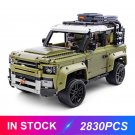 MOC Technic Land Rover Defender 93018 compatible lego 42110 with manual book