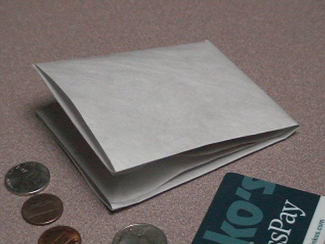 Ultra Thin Billfold Wallet