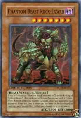 Phantom Beast Rock-Lizard LIMITED ETITION FOTB SUPER RARE