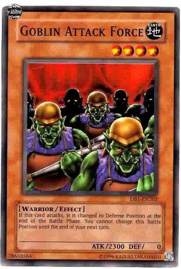Goblin Attack Force DB1 Super rare
