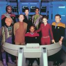 Autographed DEEP SPACE NINE photo #2