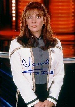 Autographed STAR TREK Photo MARINA SIRTIS