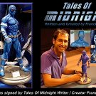 "Autographed TALES OF MIDNIGHT 12"" Statue"