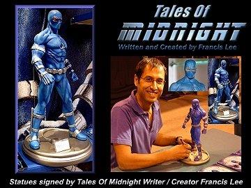 "Autographed CORGI 12"" Tales Of Midnight statue"